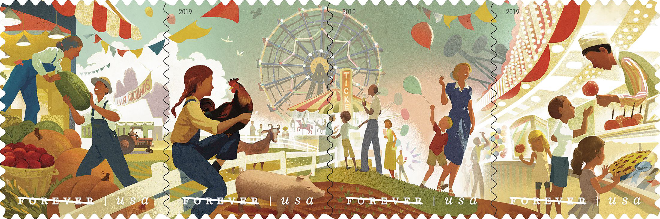 2019 US new stamp issues