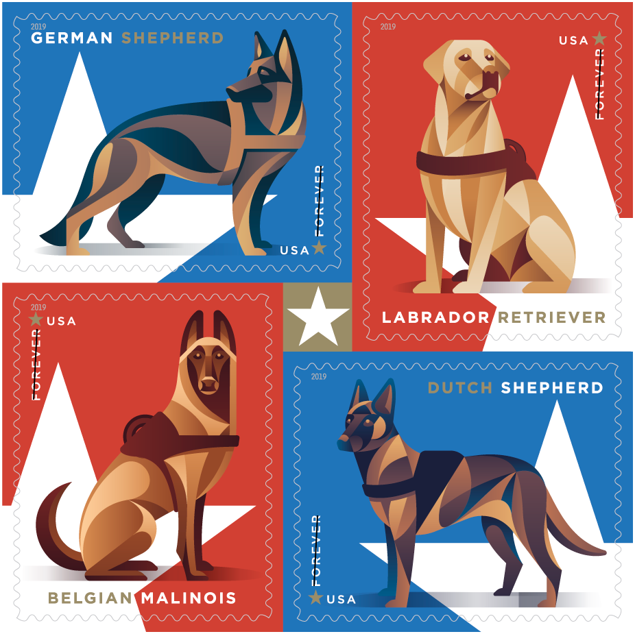 working-dogs-stamps