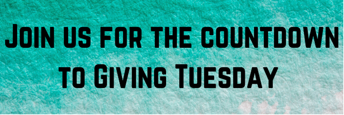 Join us for the countdown to Giving Tuesday