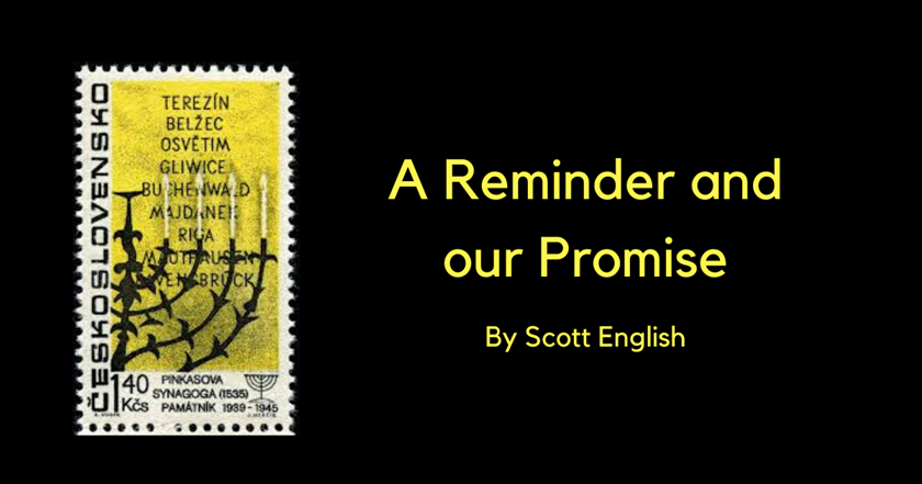 Remembrance through Stamps — A Reminder and Our Promise