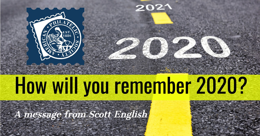 How will you remember 2020? A message from Scott English