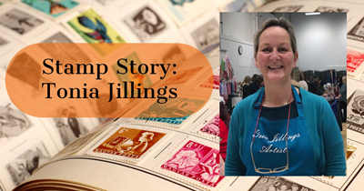 Stamp Story: Tonia Jillings, Stamp Artist