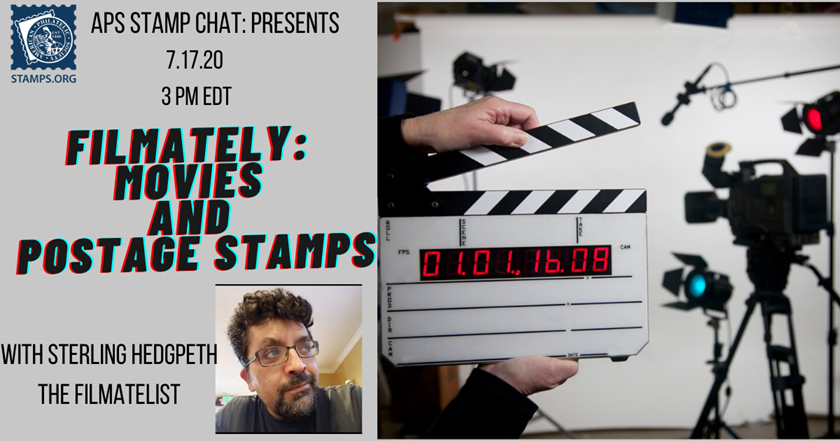APS Stamp Chat: Movies on stamps