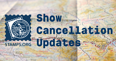Show Cancellation Updates: Sarasota National Stamp Exhibition canceled