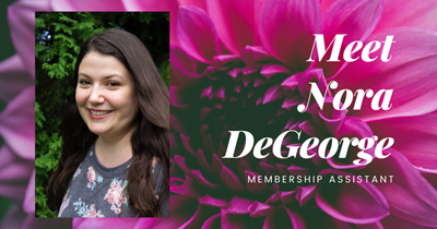 Meet Nora DeGeorge, Membership Assistant - APS Cares
