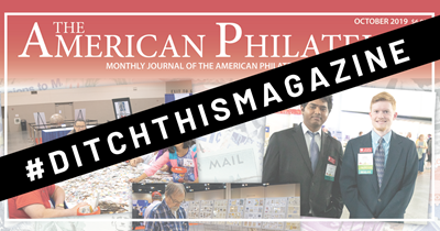 "Our Story: Give ""The American Philatelist"" to our next new member!"