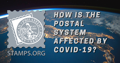 How is mail through the USPS affected by COVID-19?