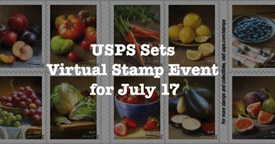 USPS sets virtual event for Fruits and Vegetables stamps