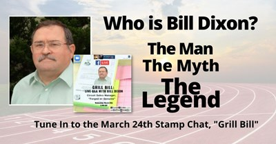 Grill Bill On March 24th Exclusively on Stamp Chat!