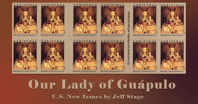 Our Lady of Guápulo - An Abundance of Holiday Stamps Part 1