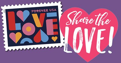 Share your Love of Stamp Collecting