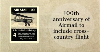 UPDATED with photos: Airmail 100 repeats historic flight