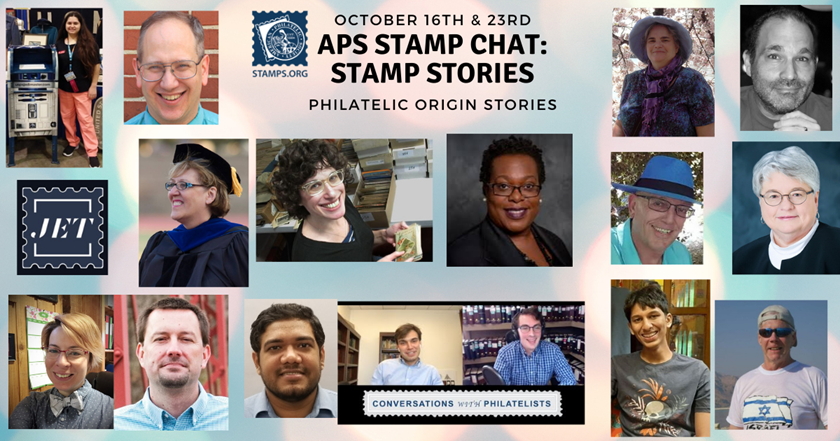 APS Stamp Chat Premieres New Series: Stamp Stories