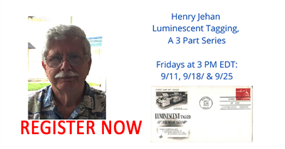 Act now! Register for Stamp Chat series on Luminescent Tagging