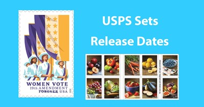 USPS sets release dates for new issues: Dedication ceremonies undecided