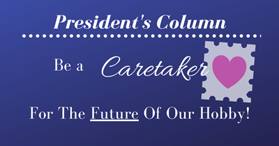 Be a Caretaker for the Future of Our Hobby