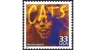 "Cats movie brings back ""Memories"" of purr-fect stamps"