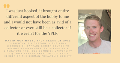 """YPLF takes you to the next level"": U.S. Army Captain David McKinney on his YPLF experience"