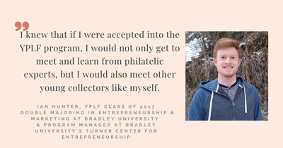 """A year full of experiences you'll never forget."" Meet YPLF alum Ian Hunter"