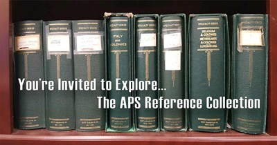 Exploring the APS Reference Collection