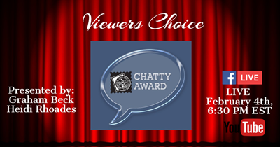 Get Ready for the APS Stamp Chat, CHATTY Awards!