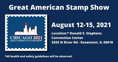 Great American Stamp Show: Chicago is Waiting!