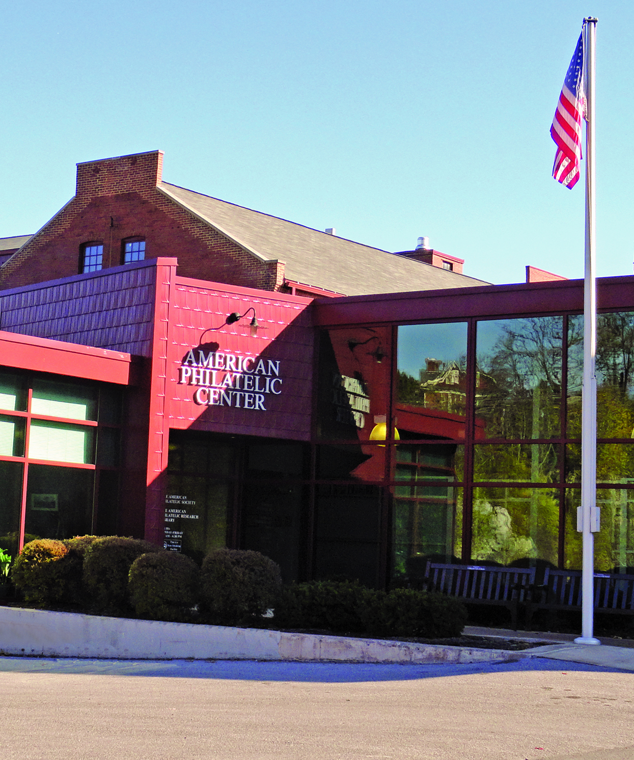 American Philatelic Center Entrance cropped