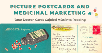 Picture Postcards and Medicinal Marketing