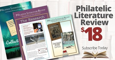 Read All About It in the Philatelic Literature Review (only $1.50/month)!