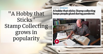 """A Hobby that Sticks:"" Stamp Collecting grows in popularity"
