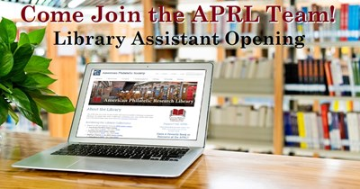 Library Assistant Opening at the APRL