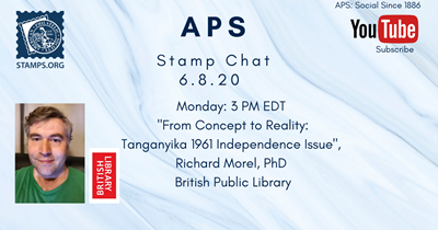 APS Stamp Chats Schedule and YouTube Recordings Available