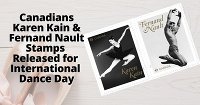 Canada Post Applauds Illustrious Careers of Two Ballet Legends