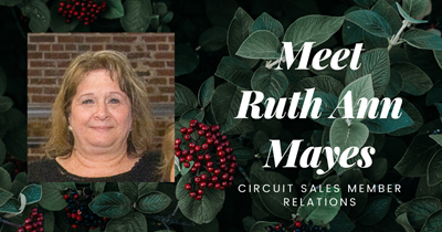 Meet Ruth Ann Mayes, Circuit Sales Member Relations - APS Cares
