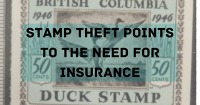 Stamp Theft Points to the Need for Insurance