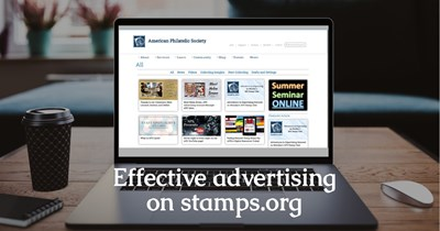 Advertising on stamps.org is essential to growing your business