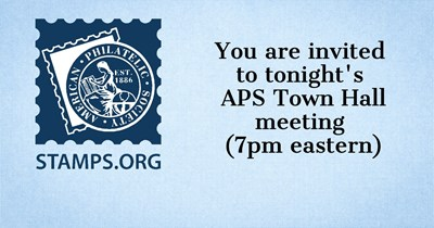 Invitation to APS Town Hall Meeting Tonight at 7pm eastern
