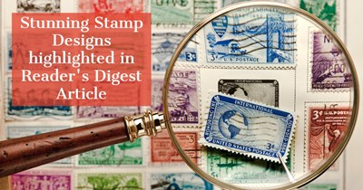 Stunning Stamp Designs highlighted in Reader's Digest Article