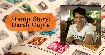 Stamp Story: Darsh Gupta