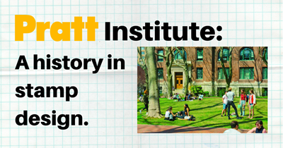 Pratt Institute: A history in stamp design