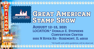 Great American Stamp Show: Chicago 2021