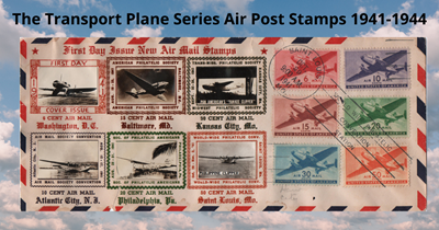 Stamp Chat: The Transport Plane Series Air Post Stamps 1941-1944