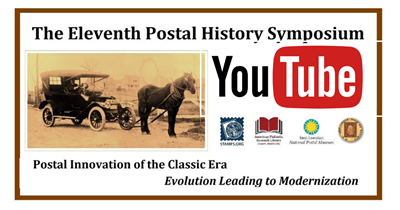 The 2020 Postal History Symposium: Watch on APS YouTube