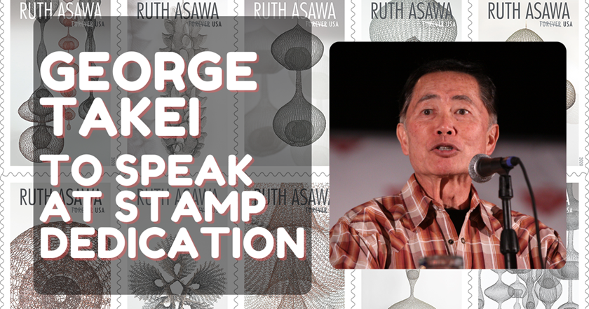 Oh My! Star Trek's George Takei featured in Asawa Stamp Dedication
