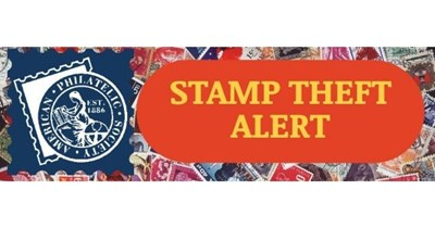 Stamp Theft Reported in Sacramento, California