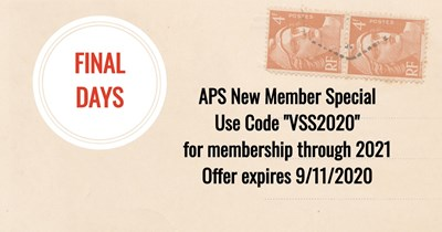 Special APS Membership Offer Expires Soon