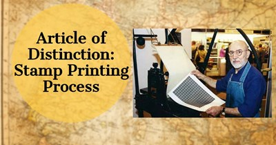 Article of Distinction: Stamp Printing Process