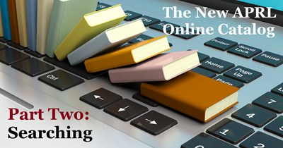 Begin Searching the New Online Catalog!