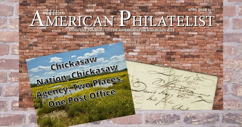 Chickasaw Nation, Chickasaw Agency: Two Places, One Post Office by Jerry S. Palazolo