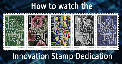 Watch the Innovation Stamp Dedication